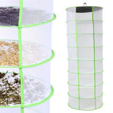 Herb Plant Bud Drying Net 8 Layer Shelf Dryer Hanging Rack Fast Drying Storage Net