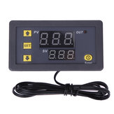 W3230 AC 110V-220V DC 12V Digital Termostat Termometer Regulator Uppvärmning Kylkontroll Instrument LED Display