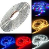 220v 3m 5050 LED SMD nastro flessibile di luce natale striscia corda esterna impermeabile
