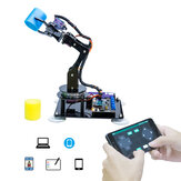 Adeept 5-DOF STEAM  DIY Robot Arm Robotic Arm Kit for UNO R3 with Arduinoo Processing Code