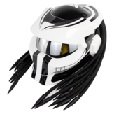 SOMAN Hunter Black Flip Up Custom Laser Light Antifogging lente Caschi integrali Cool Casco Moto Casco da moto