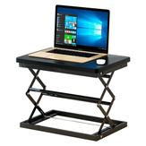 W50 Stehständer Faltbarer Laptop-Schreibtisch Höhenverstellbar Schreibtisch Faltbarer Schreibtisch Einfacher moderner Tischständer 4-Positionen Höheneinstellung