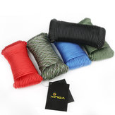 Xinda 31M Outdoor Climbing Veiligheid Rope Rescue Survival Hulp Paracord String Cord 9 Cores