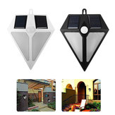 6 LED Solar Powered Waterproof PIR Motion Sensor Wall Light Outdoor Garden Sercurity Night Lamp Without Battery