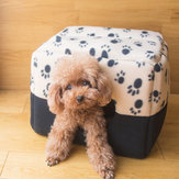 Warm Dog Bed Soft Fleece Pet Dog Puppy Cat Beds For Small Dogs Plush Cozy Nest Mat Winter Pet Supplies