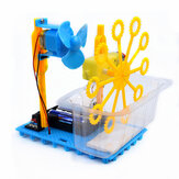 Mały Hammer STEAM DIY Bubble Blister Robot Machine Kit edukacyjny