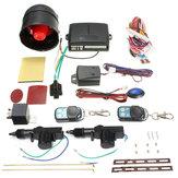 Vehículo universal, cierre centralizado a distancia kit sensor de choque inmovilizador alarma de coche