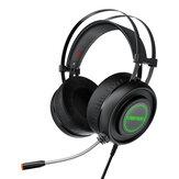 BlitzWolf® AirAux AA-GB1 Игровые наушники USB 7.1 Объемный звук RGB Светодиодный Гибкая стереогарнитура компьютерная игровая с микрофоном