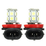 Pair Super White 6000K H11 H8 H9 LED Car Headlight Fog DRL Driving Light Lamp Bulbs