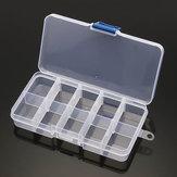10/24 Caixa de Armazenamento Multifuncional de Grade Caixa de Ferramenta Ajustável para Acessórios Ferramenta Rotativa