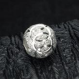 5pcs branelli allentati degli accessori dei monili DIY dell'argento sterlina 925 progettano