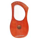 Walter WH-05 7-String Mahogany Wood Iyre Harp With Bag Tunning Tool