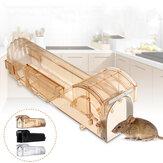 Roedor animal rato humano armadilha ao vivo hamster gaiola ratos controle de rato isca de captura