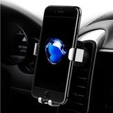 Kaya Yerçekimi Otomatik Kilit 360 Derece Rotasyon Hava Vent Araba Xiaomi Cep Telefonu için Montaj Telefon Tutucu