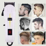 Surker Professional Cordless Hair Clipper Barber Hair Cutting Machine LED LCD Display Electric Hair Trimmer for Men Adult Child