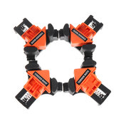 4pcs Woodworking 90 Degree Right Angle Clamp Clip ABS Quick Picture Frame Corner Clamp