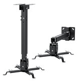 BlitzWolf® BW-VF2 Celling Wall Projector Mount Adjustable Universal Extendable Hanging Mount Bracket Projector Stand 30°Rotatable  4 Dual-connect Support Arms