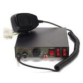 200 W 9-Sound Tones Car Truck Aviso Alarme Polícia Sirene Buzina Speaker Sistema MIC