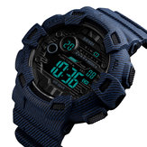 SKMEI 1472 Week Pantalla Alarm Cowboy Men Reloj digital