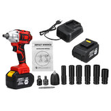 128VF 520N.M Brushless Impact Wrench Li-ion Battery Electric Wrench Power Tool