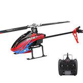 XK K130 2.4G 6CH Sistema Brushless 3D6G Flybarless RC Helicóptero RTF Compatível com FUTABA S-FHSS