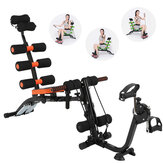 Multifungsi Dumbbell Stool Adjustable 6 In 1 Duduk Bangku Pelatihan Perut Home Gym Alat Latihan Kebugaran