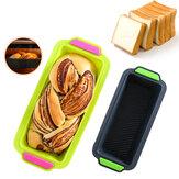 29.2x12.8x6.2cm Silicone Molde do bolo DIY Antiaderente Molde de torrada de pão Pão Pastelaria Molde de cozimento Bakeware