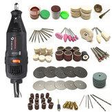 125Pcs Mini Broca Conjunto de ferramentas Acessórios Kit de corte rotativo de velocidade variável