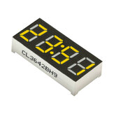 5Pcs 0.36 Inch 4 Digit LED 7 Segments Red/Yellow Clock Display Tube 30*14mm Module Common Anode