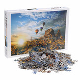 1000 Pieces Jigsaw Puzzle Toy DIY Assembly Paper Puzzle Building Landscape Educational Toy