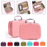 Crocodile Pattern Large Capacity Portable Cosmetic Bag