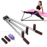 Adjustable Leg Stretch Extension Split Machine Flexibility Training Yoga Exercise Tools w/ Yoga Ropes