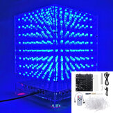 3D Light Cube Набор 8x8x8 Синий LED MP3 Music Spectrum DIY Электронный Набор