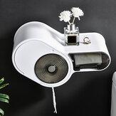 حامل ورق تواليت ذاتية اللصق من Bakeey حامل حمام متعدد الوظائف مقاوم للقطط مثبت على الحائط حامل ورق المرحاض هاتف صندوق تخزين حامل