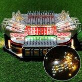 Kit de iluminação LED DIY SOMENTE para LEGO 10272 Old Trafford Para United Stadium Bricks Toy