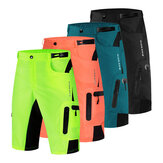 WOSAWE Men Baggy Cycling Shorts Reflective MTB Mountain Bike Bicycle Riding Trousers Water Resistant Loose Fit Shorts