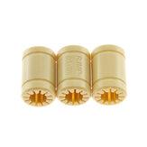 TWOTREES®10個LM8UUソリッドポリマーベアリング8mmシャフトRJMP-01-08 3Dプリンター用プラスチックリニアベアリングブッシング