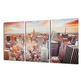 Ciudad de Nueva York Impresión en lienzo Pintura Imagen en la pared Arte Decoraciones Paisaje Sin marco