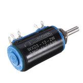 WXD3-13-2W精密ポテンショメータ2.2KΩ2.2Kオーム巻線マルチターンポテンショメータ