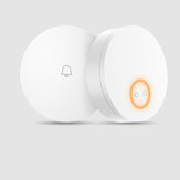 Linptech 110-240V Wireless Door Bell Generating Self-Generation التطبيق ذكي Door Bell Transmitter No البطارية No القوة Required Memory وظيفة يعمل مع Mijia من Xiaomi Youpin