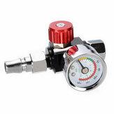 Miniaturowy zawór regulatora ciśnienia 1/4 '' Manometr Regulowana pułapka z dyszą