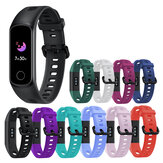Bakeey Pure Color Soft Silicone Watch Band Strap Replacement for Huawei Honor Band 5i
