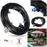 8M Outdoor Mist Coolant System Water Sprinkler Garden Patio Mister Cooling Spray Kits