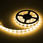 DC 6V 1M 3M 5M SMD 2835 White Waterproof LED Flexible Tape Strip Light For Xmas
