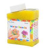 8000PCS/Box Pearl Shaped Crystal Soil Water Loose Beads Mud Grow Magic Jelly Balls Home Decor