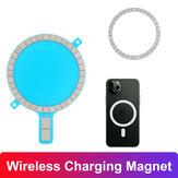 Bakeey Magsafe draadloze oplaadmagneet voor iPhone 12 mobiele telefoonhoes Sterke magnetische achterkant voor Magsafe