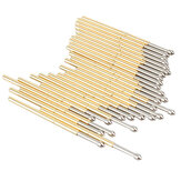 P100-E2 100Pcs Dia 1.36mm Længde 33.3mm 180g Spring Test Probe Pogo Pin Tool