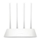 Roteador sem fio Mercury 300M 4 Antena Roteador de banda larga móvel de 4 portas através da parede King Home Smart Wifi Signal Expander MW325R
