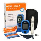 血糖値計血糖値計糖尿病テスター25個血液検査ストリップ血液採取針