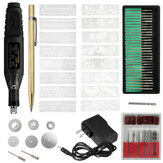 70Pcs Mini DIY Electric Engraving Pen Kit Adjustable Speed Etching Drilling Polishing Pen For Jewelry Diamond Wood